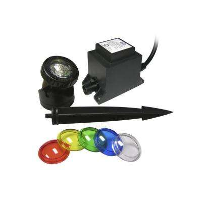Power Beam 10-Watt with Transformer 23 ft. Cord with Color Lenses
