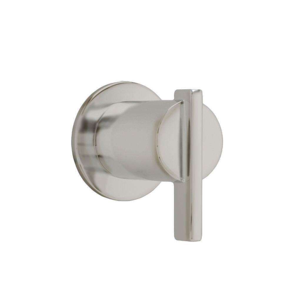 Berwick 1-Handle On/Off Volume Control Valve Trim Kit in Brushed Nickel