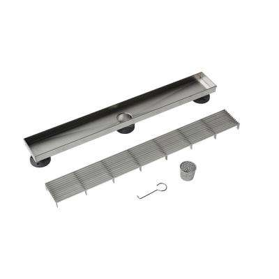 24 in. Stainless Steel Linear Drain Wedge Wire Grate