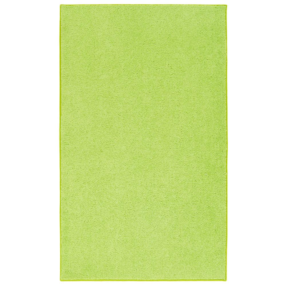 Nance Industries OurSpace Lime Green 5 ft. x 7 ft. Bright Area Rug