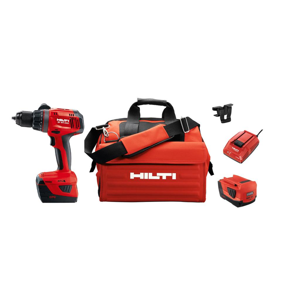 22-Volt SF 6H Advanced Compact Lithium-Ion Cordless 1/2 in.