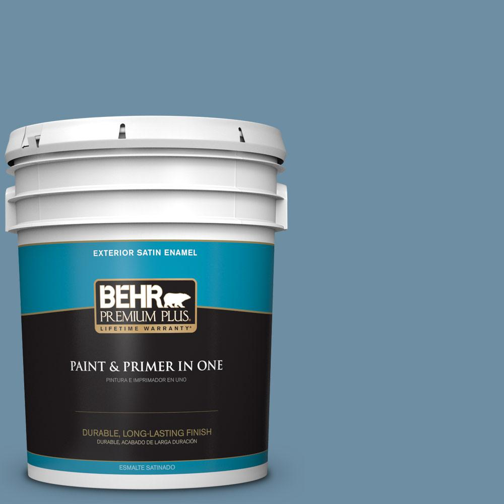 5 gal. #PPU14-04 French Court Satin Enamel Exterior Paint