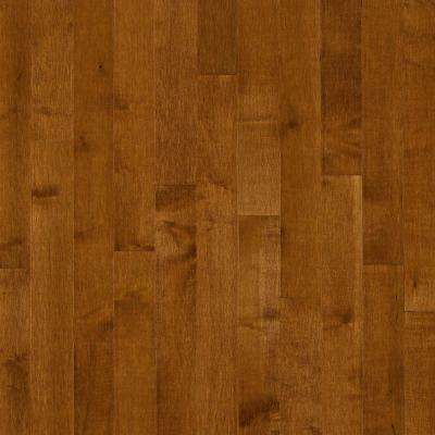 Maple Gunstock 3/4 in. Thick x 2-1/4 in. Wide x Random Length Solid Hardwood Flooring (20 sq. ft. /case)