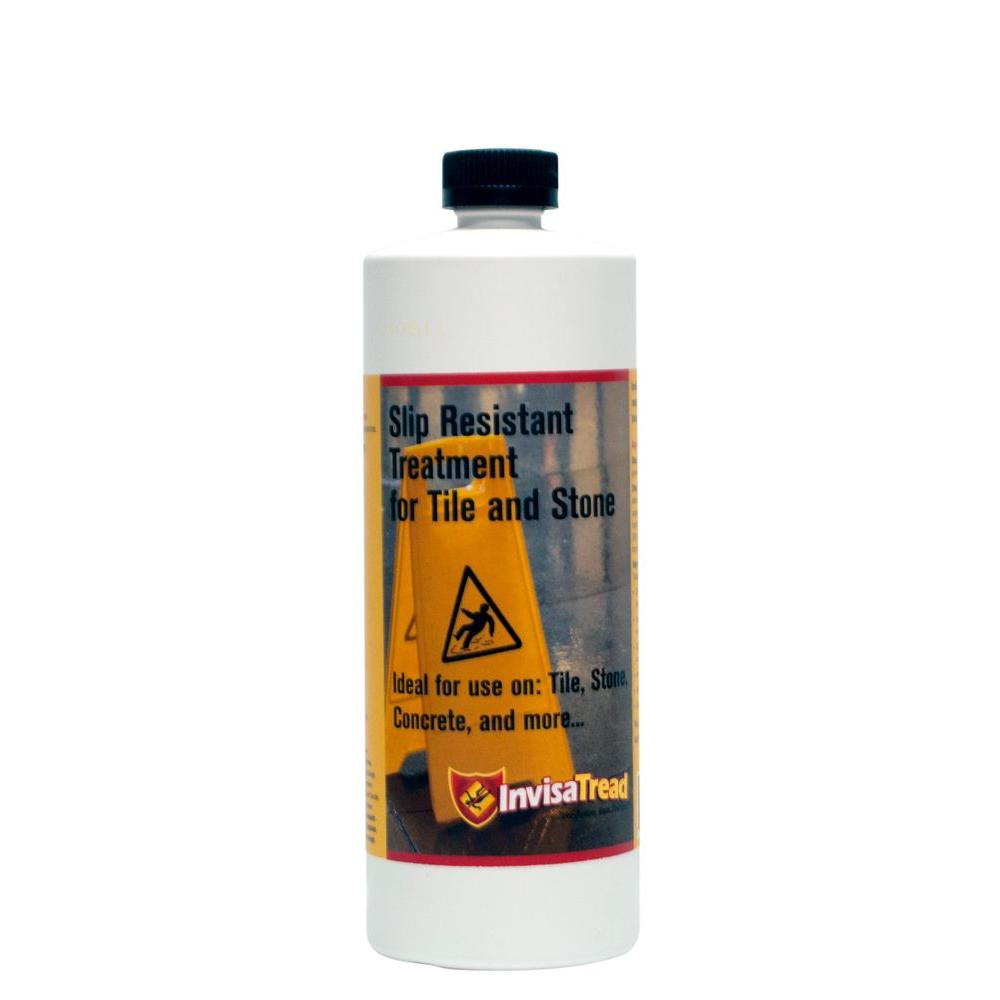 InvisaTread 1 Qt. Slip Resistant Treatment for Tile and Stone