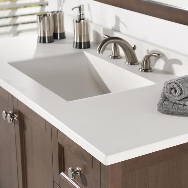 X 22 In D Solid Surface Vanity Top