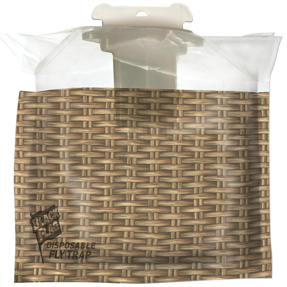 Black Flag Disposable Outdoor Fly Trap