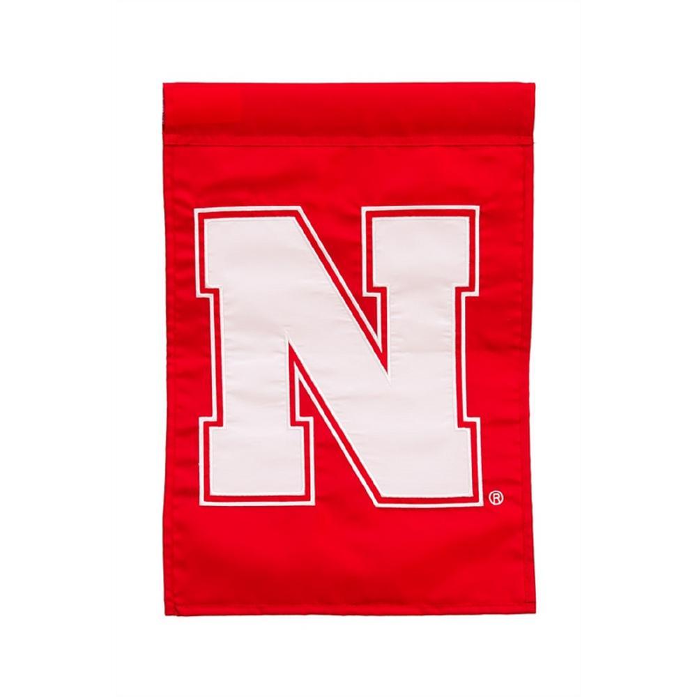1 ft. x 1-1/2 ft. University of Nebraska 2-Sided Garden Flag