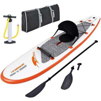 Stingray 10 ft. Inflatable Stand Up Paddleboard with Paddle and Hand Pump