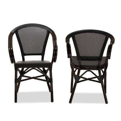 Artus Black Dining Chair (Set of 2)