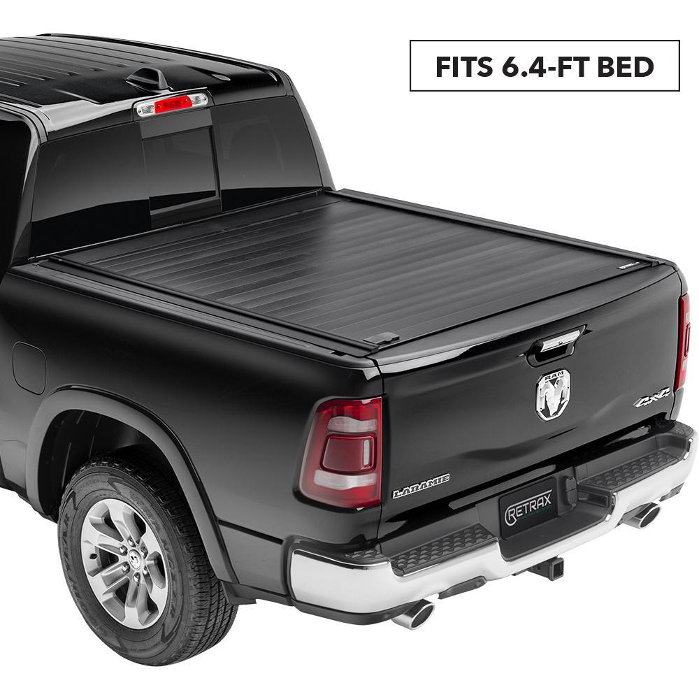 Retrax Pro Mx Tonneau Cover 19 New Body Style Ram 1500 6 4 Bed W Out Rambox W Out Stake Pockets 80245 The Home Depot