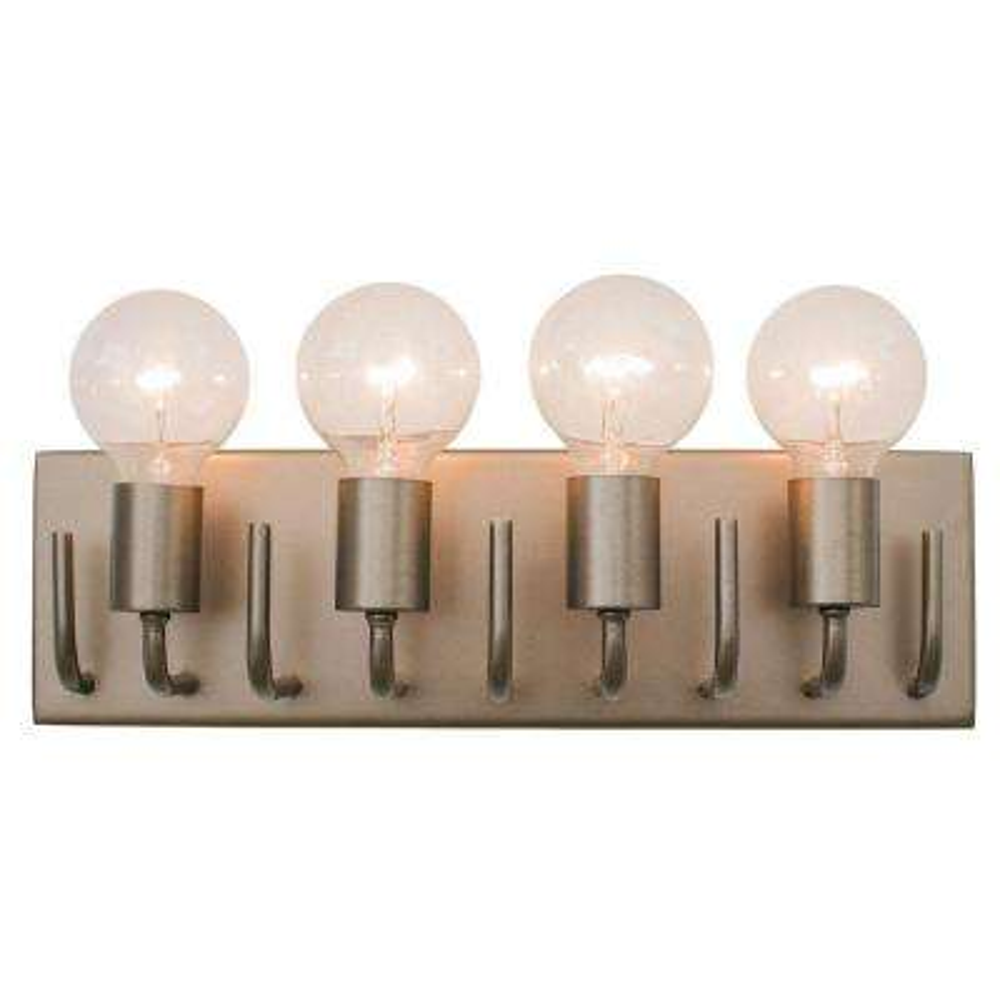 Socket-To-Me 4-Light New Bronze Vanity Light