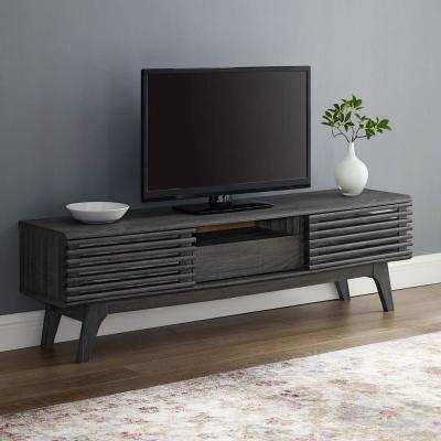 Render Charcoal 59 in. TV Stand