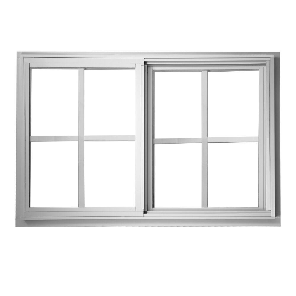Sliding Glass Windows: TAFCO WINDOWS 35.5 In. X 35.5 In. Left-Hand Single Sliding
