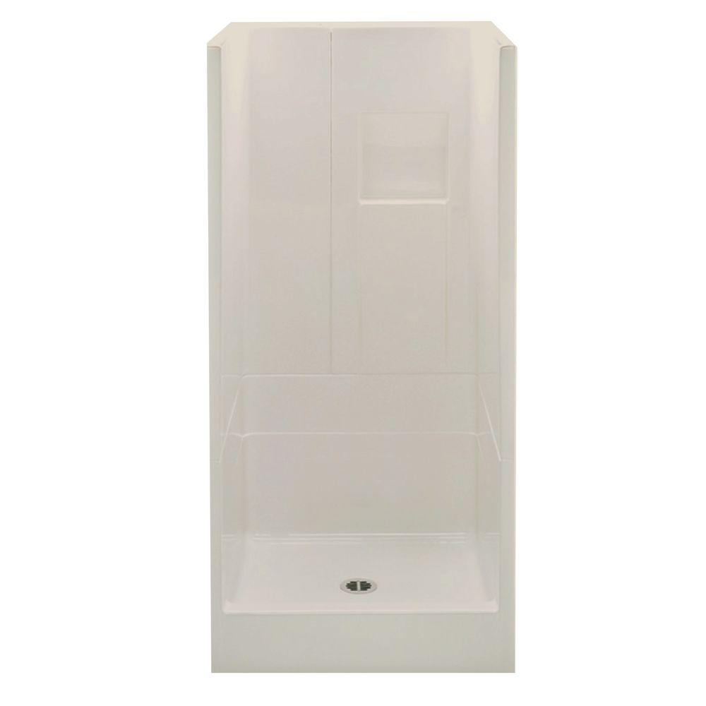 Aquatic Remodeline Smooth Wall 36 in. x 36 in. x 72-3/4 i...