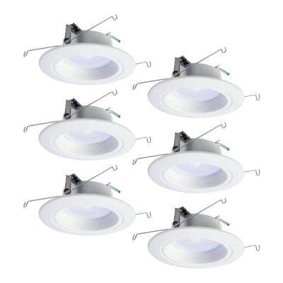 RL 5 in. and 6 in. Tunable White Bluetooth Smart Integrated LED Recessed Ceiling Light CCT 2700K-5000K (6-Pack)