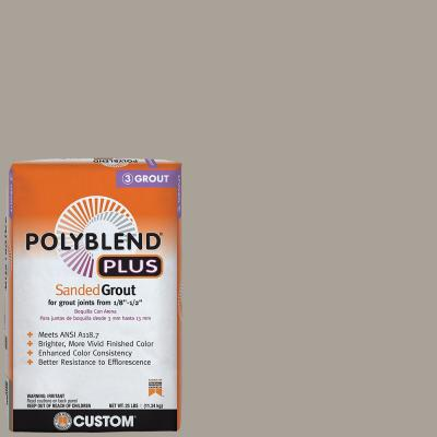Polyblend Plus #543 Driftwood 25 lb. Sanded Grout