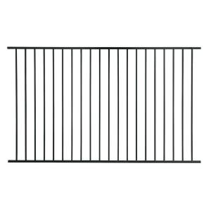 Delicieux US Door U0026 Fence Pro Series 4.84 Ft. H X 7.75 Ft. W Black Steel Fence  Panel F2GHDS93X58US   The Home Depot