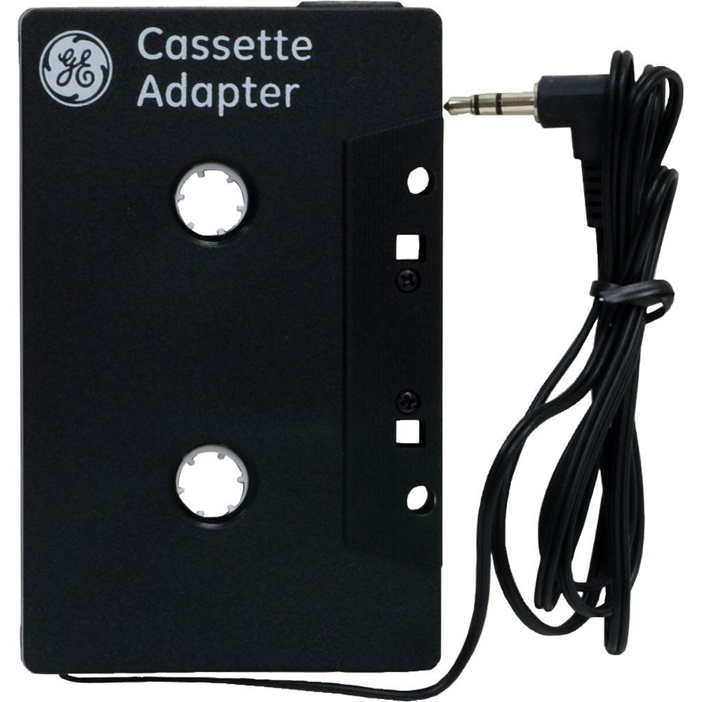 Cassette and CD Car Adapter, Black