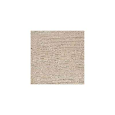 6 in. x 6 in. Rough Sawn Whitewash Endurathane Faux Wood Ceiling Beam Material Sample