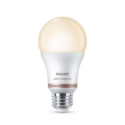 Tunable White A19 LED 60W Equivalent Dimmable Smart Wi-Fi Wiz Connected Wireless Light Bulb