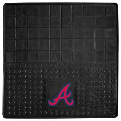 Atlanta Braves Heavy Duty Vinyl 31 in. x 31 in. Cargo Mat