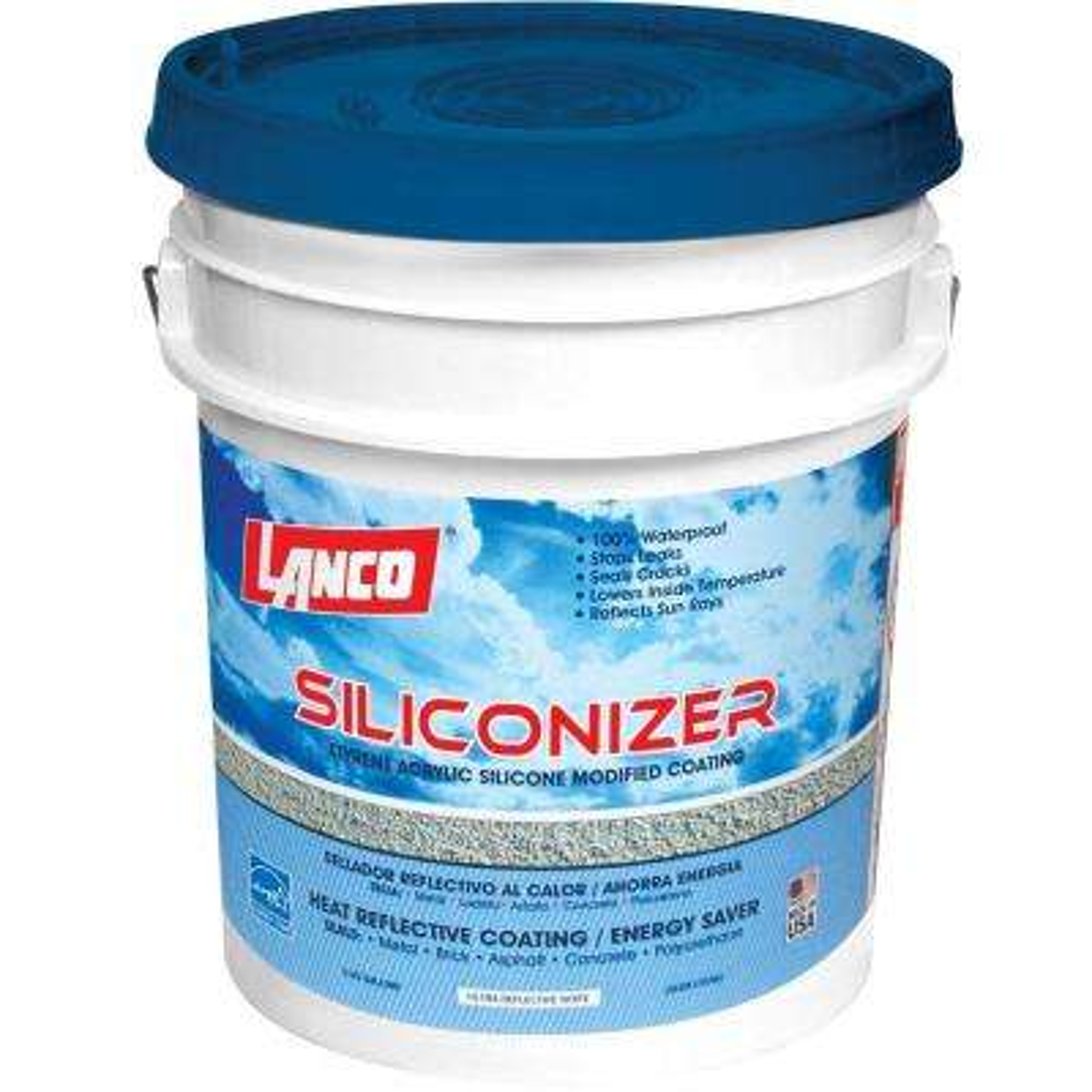 5 Gal. Siliconizer Elastomeric Sealer