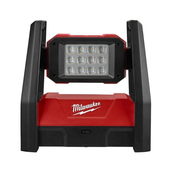 Milwaukee M18 18-Volt Lithium-Ion Cordless 3000-Lumen ROVER LED AC/DC Flood Light (Tool-Only)