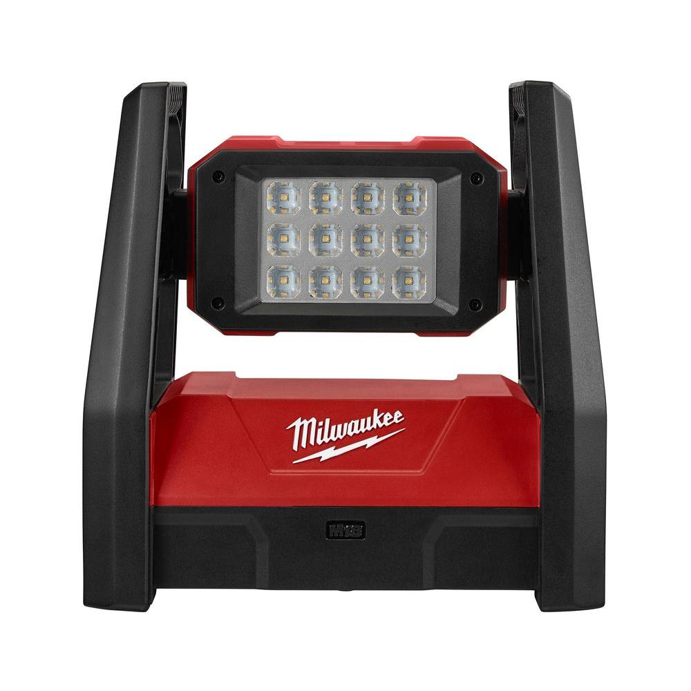 Milwaukee M18 18-Volt Lithium-Ion Cordless 3000-Lumen ROVER LED AC/DC Flood  Light (Tool-Only)-2360-20 - The Home Depot