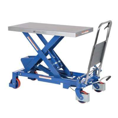 1,750 lb. 20 in. x 39.5 in. Hydraulic One Scissor Car