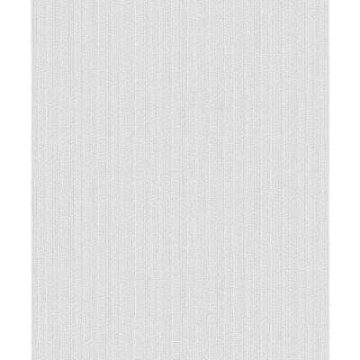 Kinsley Grey Textured Stripe Wallpaper