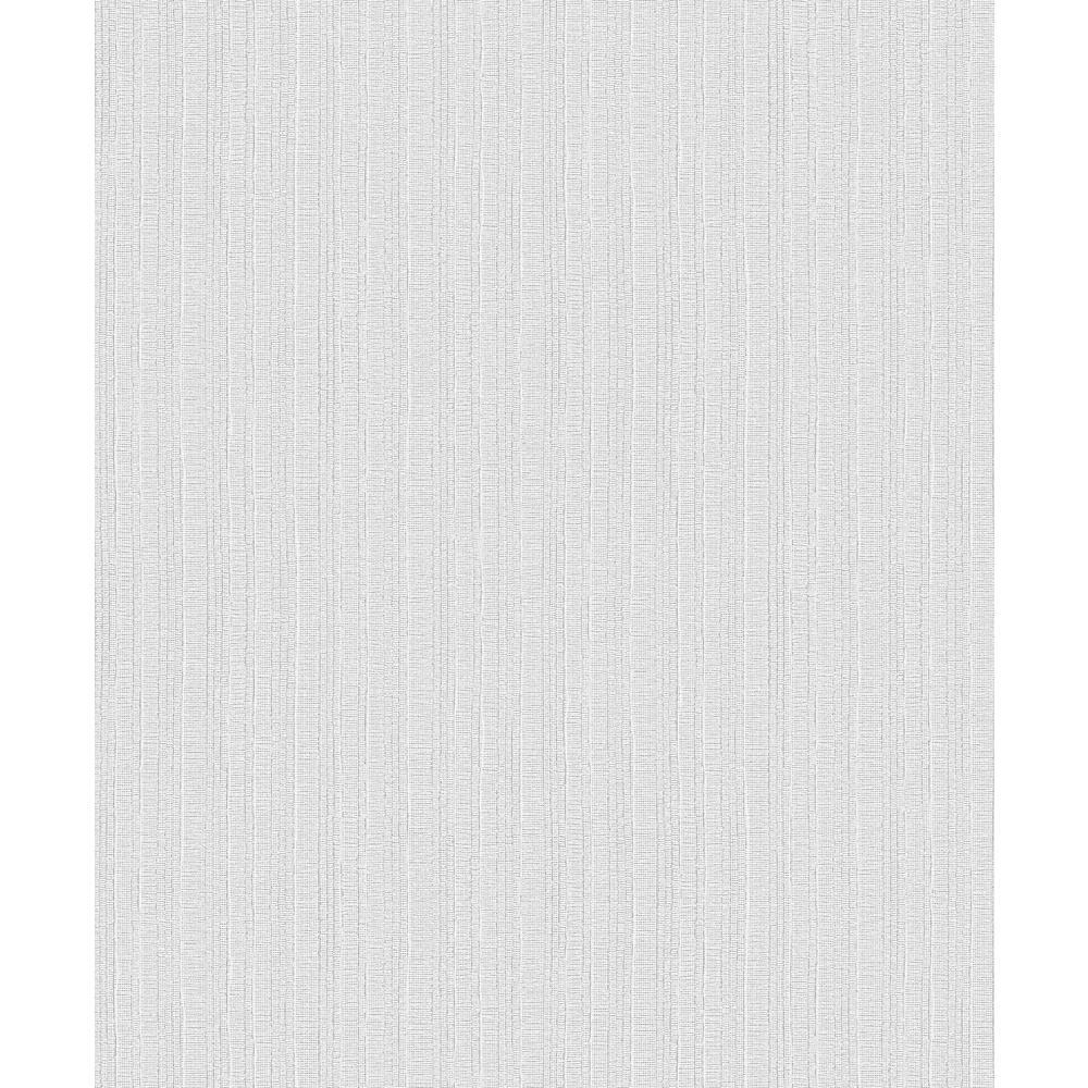 Kinsley Grey Textured Stripe Wallpaper Sample