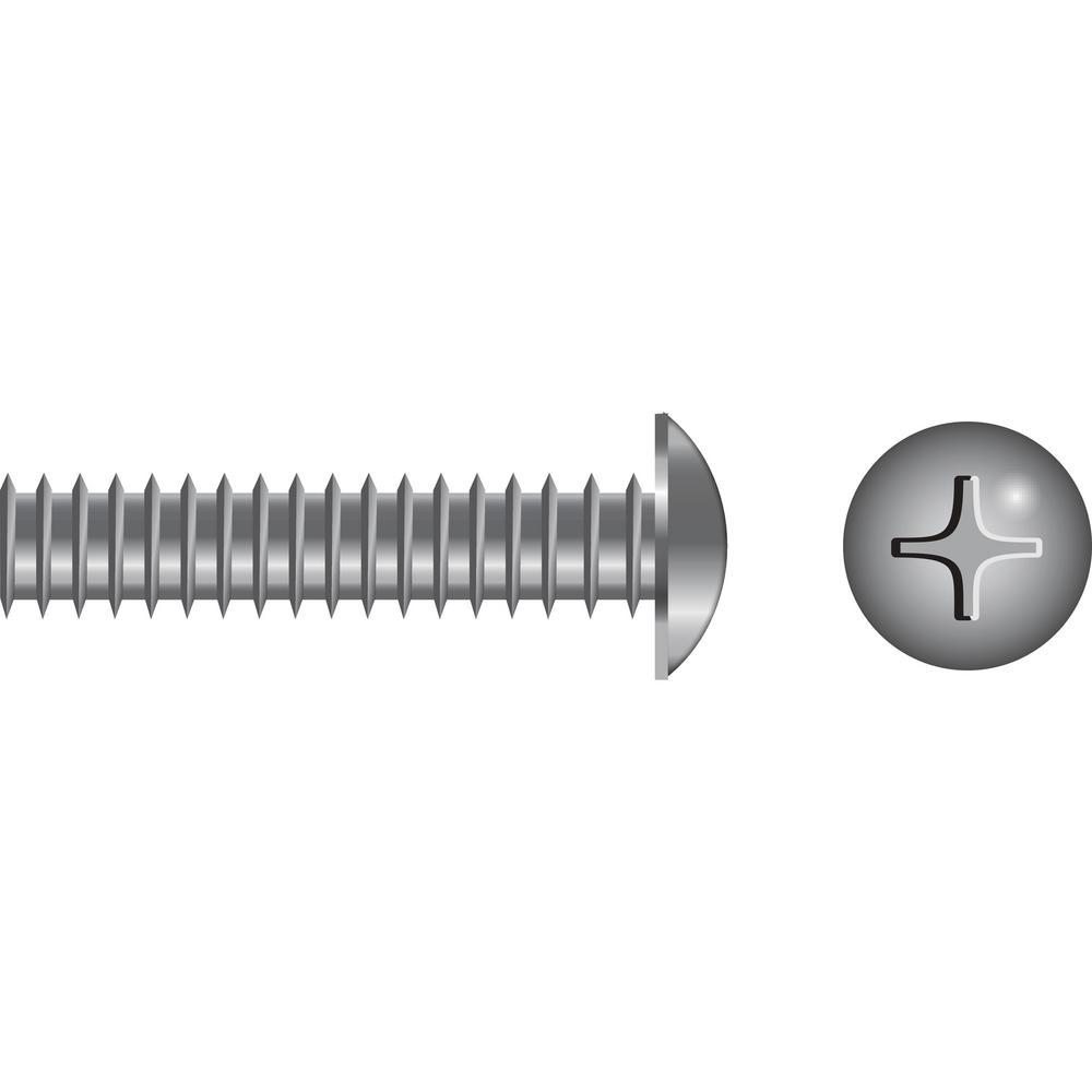 1/4 - 20 x 3/4 in. Truss Head Phillips Machine Screw