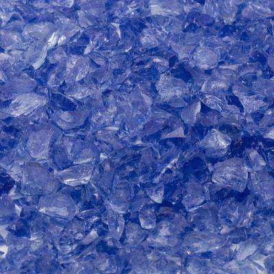 1/4 in. 10 lb. Royal Blue Landscape Fire Glass