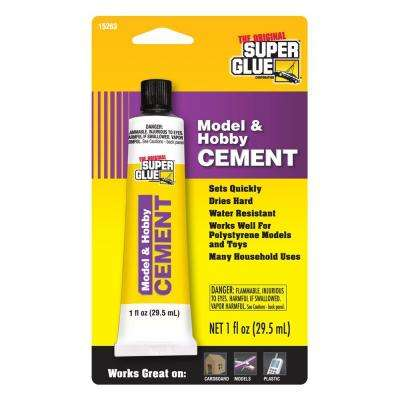 1 fl. oz. Model and Hobby Cement (12-Pack)