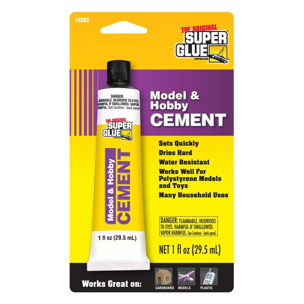 Super Glue 1 fl. oz. Model and Hobby Cement (12-Pack)