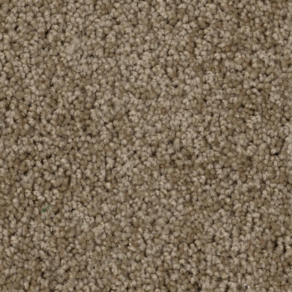 Trafficmaster Thoroughbred Ii Color Chestnut Texture 12 Ft Carpet Ef286 1858 The Home Depot