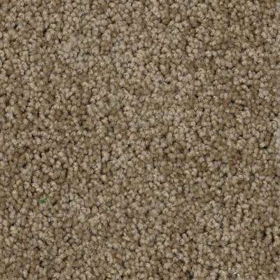 Thoroughbred II - Color Chestnut Texture 12 ft. Carpet
