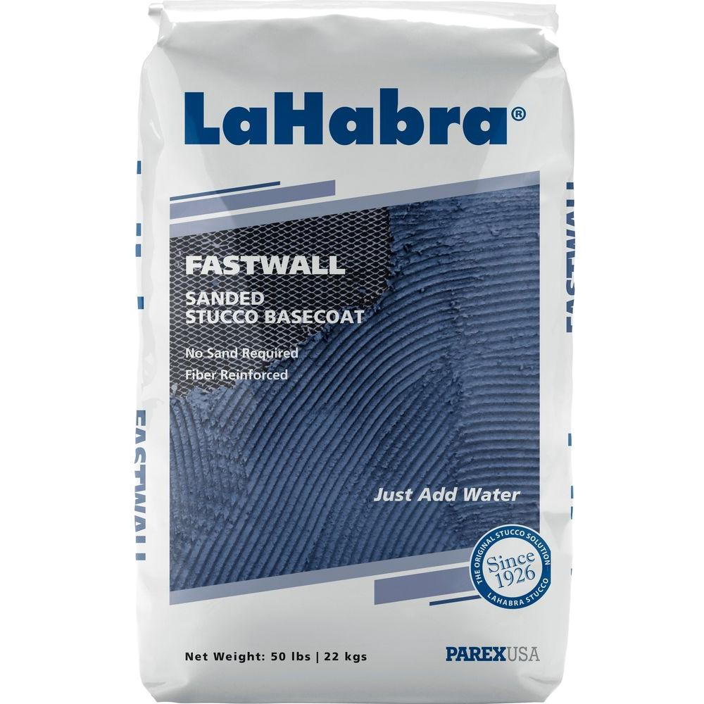 50 lb. Fastwall Stucco Base Coat Sanded Gray