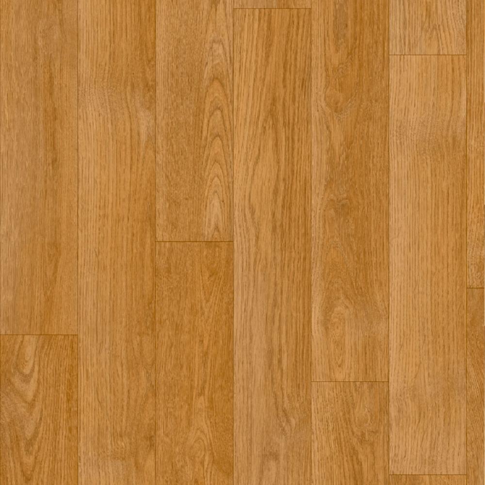 Ivc Take Home Sample Manchester Oak Residential Sheet Vinyl Flooring 6 In. X 9 In., Golden Honey Clean Oak Finish