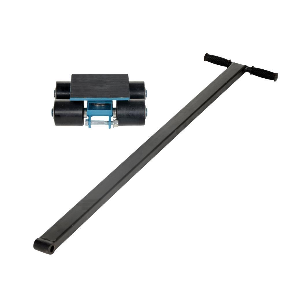 Vestil 6000 lbs  Nylon Machinery Skates 4 Rollers