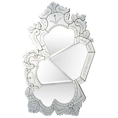 Sommers 30.9 in. x 47.24 in. Unframed Wall Mirror