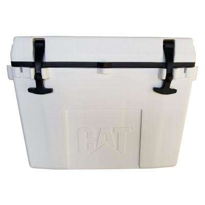 27 Qt. Caterpillar Cooler in White