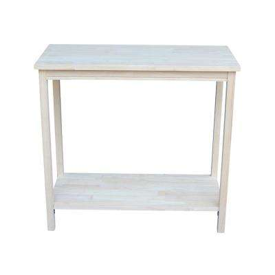 Portman Unfinished Console Table