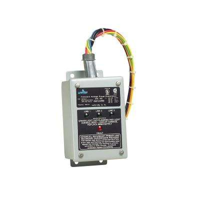 120/240/120-Volt Hi-Leg Split Phase Enhanced Noise Filtering Module Surge Protective Panel, Gray