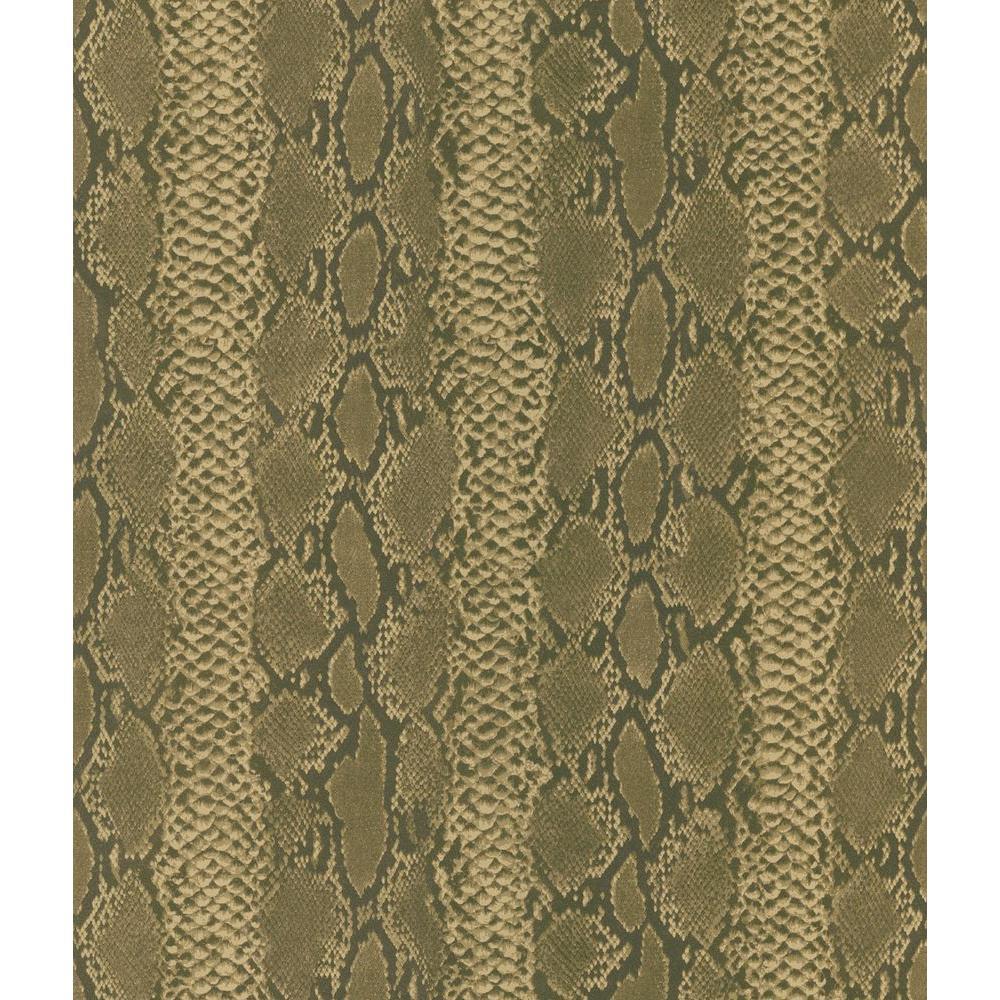 Brown Python Snake Skin Wallpaper Sample