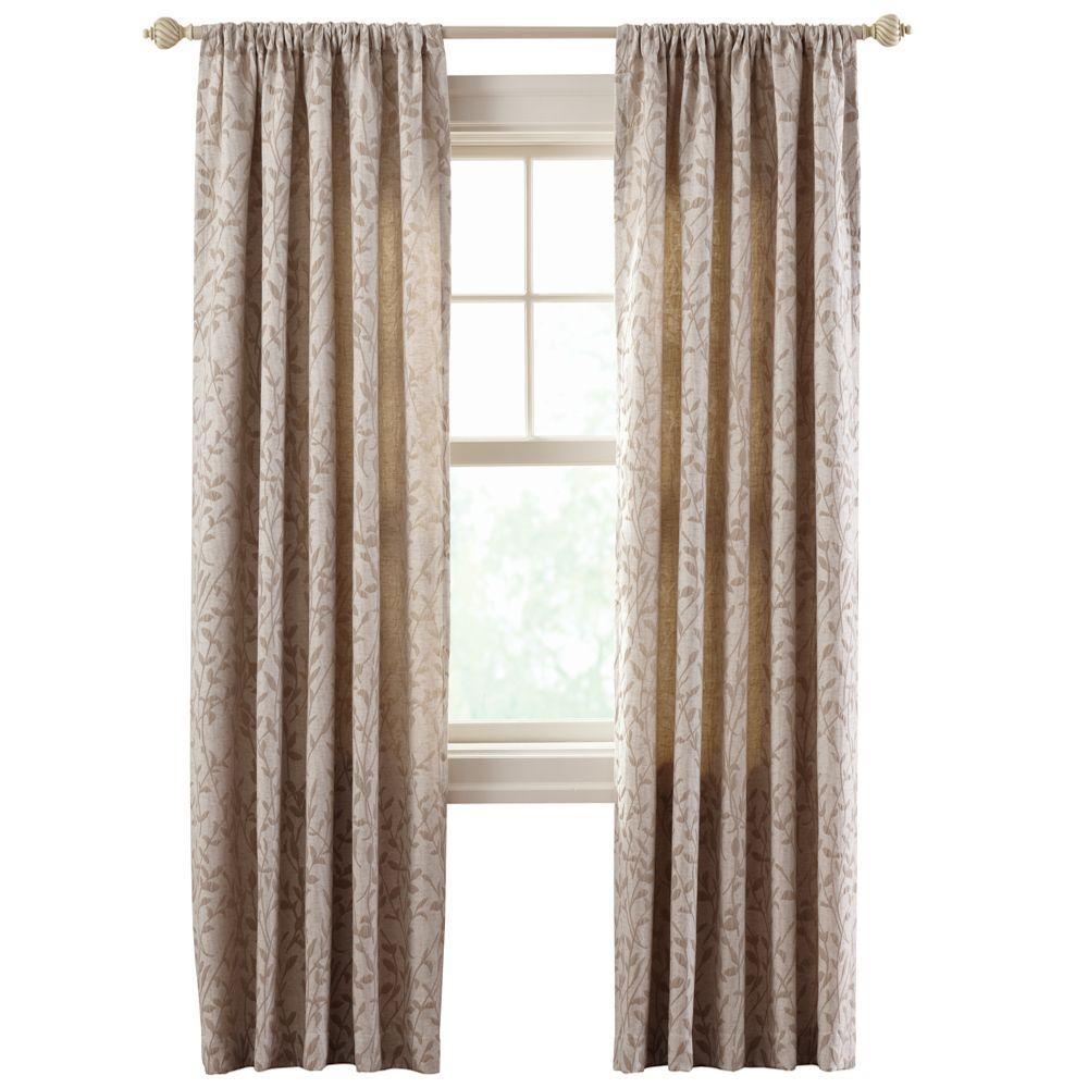 Good Morning Tide Rod Pocket Curtain