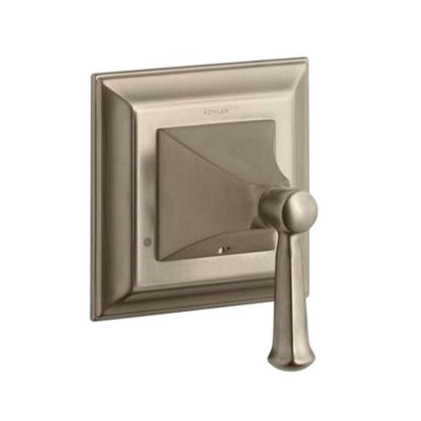 Memoirs 1-Handle Transfer Valve Trim Kit with Lever Handle in Vibrant Brushed Bronze (Valve Not Included)