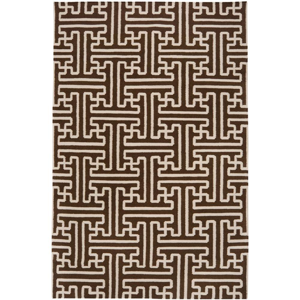 Smithsonian Brown 3 ft. 6 in. x 5 ft. 6 in.