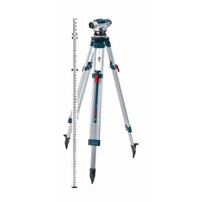 5.6 in. Automatic Optical Level Kit with a 32x Magnification Power Lens (5 Piece)