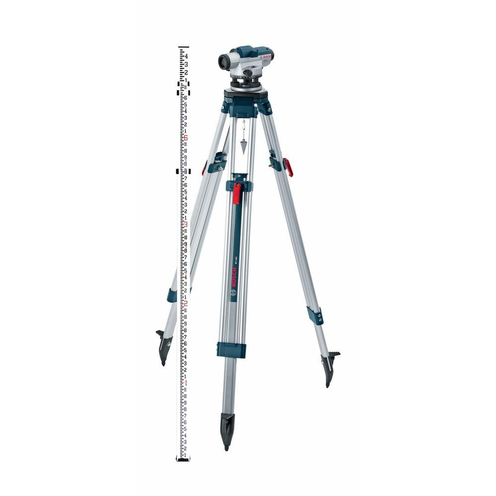 5.6 in. Automatic Optical Level Kit with a 32x Magnification Power